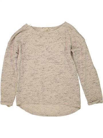 Sweat fille H&M beige 12 ans hiver #1471043_1