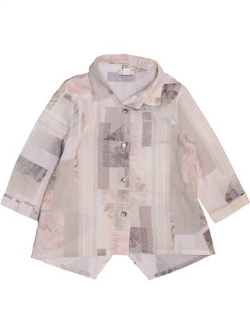 Blouse manches longues fille RIVER ISLAND rose 6 mois hiver #1471105_1