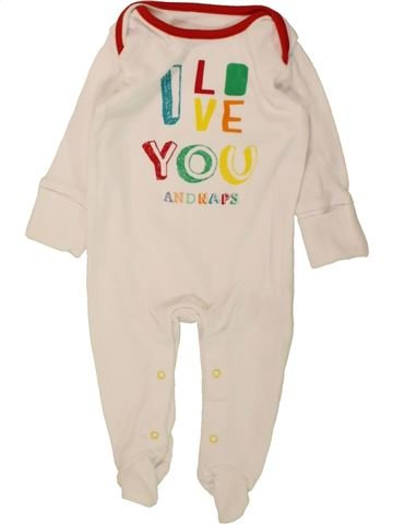Pyjama 1 pièce garçon LADYBIRD violet 3 mois été #1471876_1