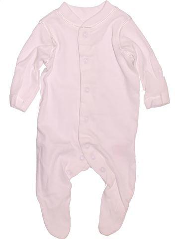 Pyjama 1 pièce unisexe MOTHERCARE rose prématuré été #1472571_1