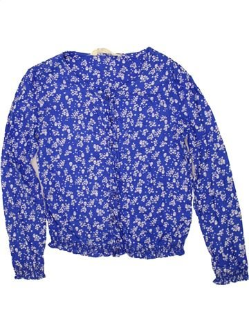Blusa de manga larga niña H&M violeta 12 años invierno #1472820_1