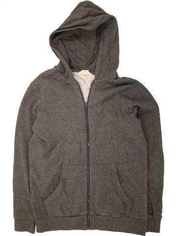Sweat garçon H&M gris 12 ans hiver #1472829_1