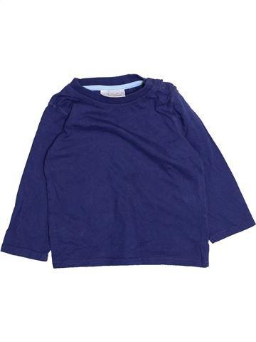 T-shirt manches longues garçon ERGEE bleu 2 ans hiver #1472974_1