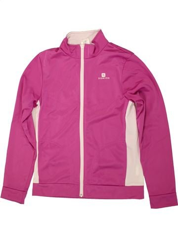 Sportswear fille DOMYOS violet 12 ans hiver #1473162_1
