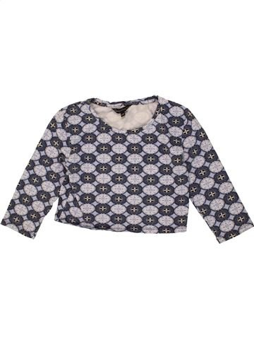 T-shirt manches longues fille CANDY COUTURE gris 11 ans hiver #1475025_1