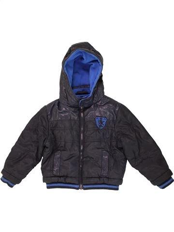 Blouson garçon M&CO bleu 2 ans hiver #1475116_1