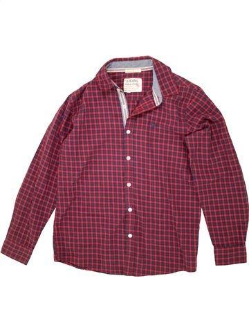 Chemise manches longues garçon JASPER CONRAN violet 13 ans hiver #1475414_1