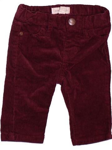Pantalon garçon PUMPKIN PATCH marron 3 mois hiver #1476313_1