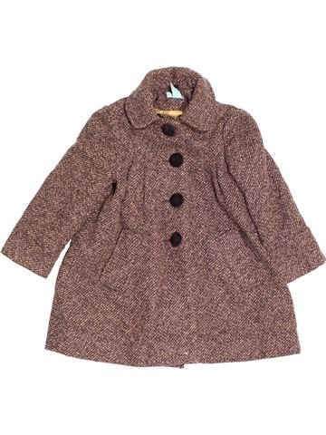 Manteau fille MONSOON marron 4 ans hiver #1477109_1