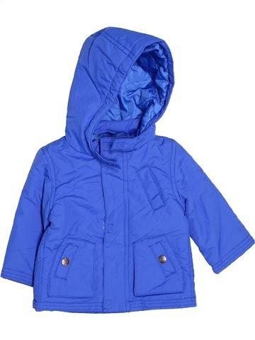 Manteau garçon JOHN LEWIS bleu 6 mois hiver #1477386_1
