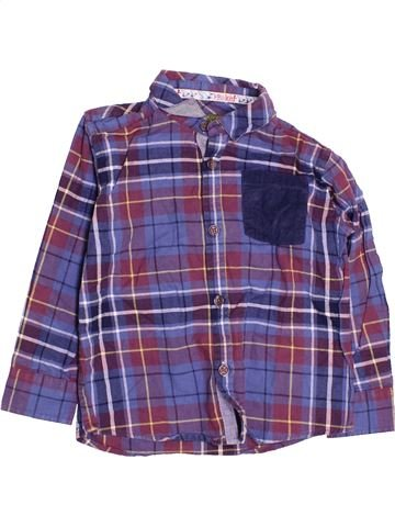 Chemise manches longues garçon TED BAKER violet 4 ans hiver #1477514_1