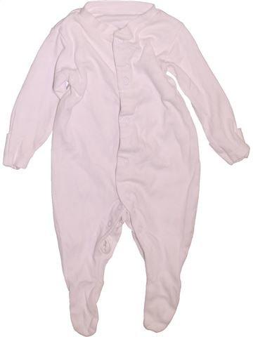 Pijama de 1 pieza unisex TU blanco 3 meses verano #1477674_1