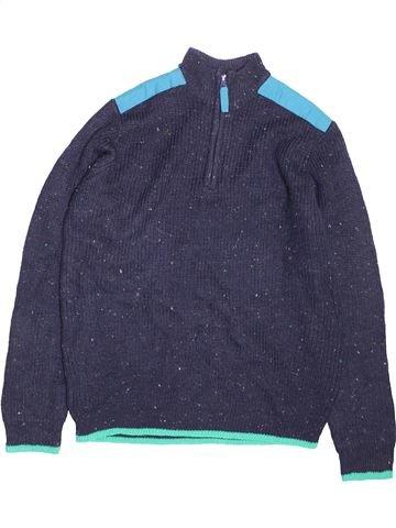 Pull garçon FLIPBACK bleu 12 ans hiver #1477787_1