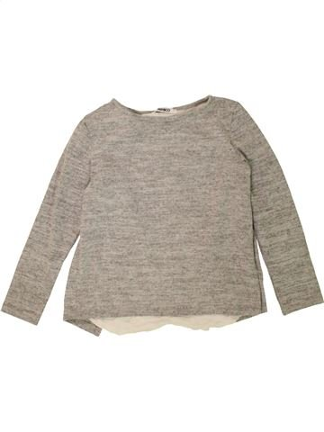 Pull fille PEP&CO gris 7 ans hiver #1478432_1