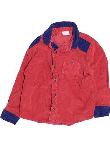 Chemise manches longues garçon MINI CLUB rose 5 ans hiver #1478931_1