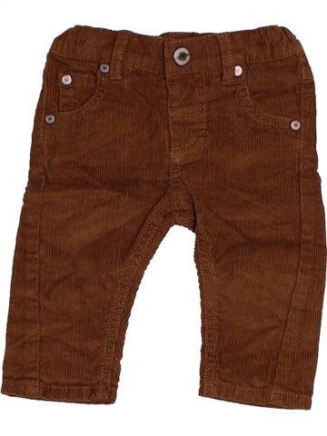 Pantalon garçon BAMBINI marron 3 mois hiver #1479401_1