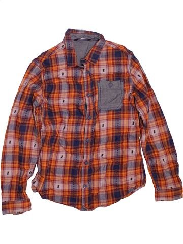 Camisa de manga larga niño GEORGE marrón 10 años invierno #1479919_1