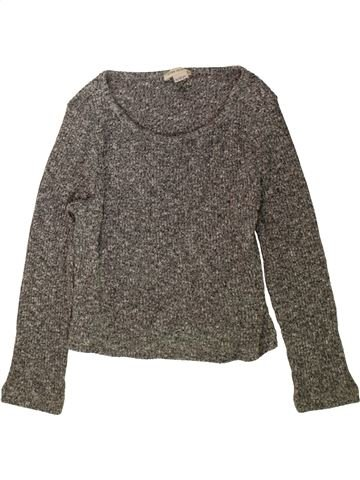 Pull fille RIVER ISLAND gris 12 ans hiver #1480474_1
