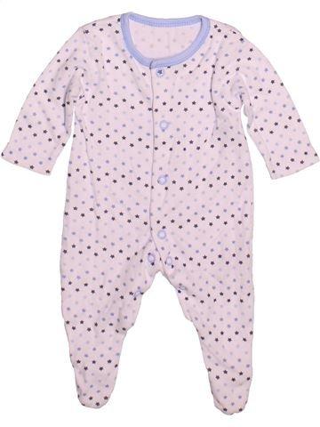 Pijama de 1 pieza niño GEORGE blanco prematuro verano #1480799_1