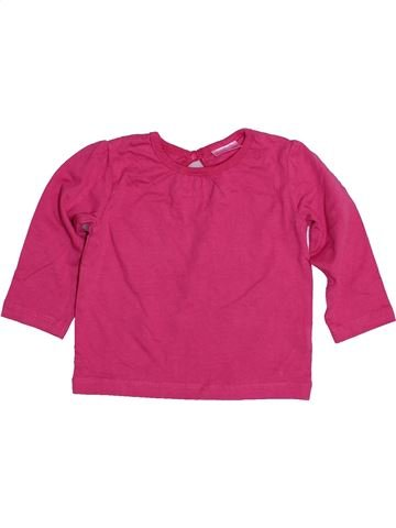 Camiseta de manga larga niña CHEROKEE rosa 6 meses invierno #1481173_1