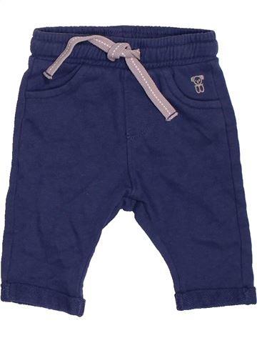 Pantalon garçon OKAIDI bleu 3 mois hiver #1482115_1