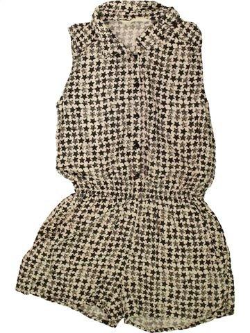 Combinaison courte fille H&M beige 13 ans été #1483119_1