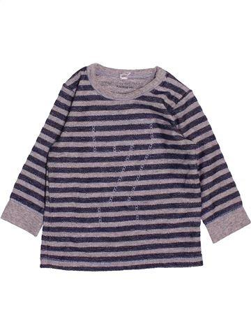 T-shirt manches longues garçon NAME IT gris 3 mois hiver #1483196_1