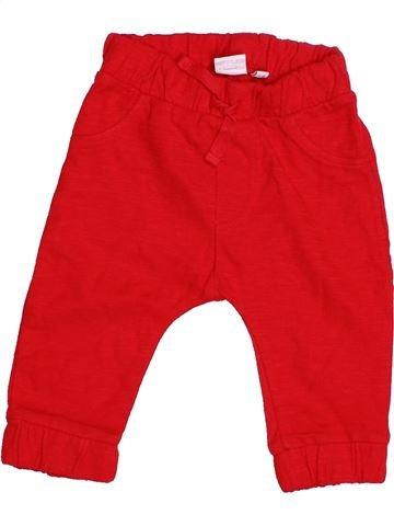 Pantalón niño BLUEZOO rojo 6 meses invierno #1483603_1