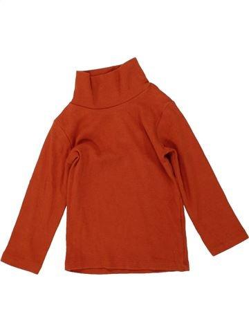 T-shirt col roulé garçon NEXT rouge 9 mois hiver #1483627_1
