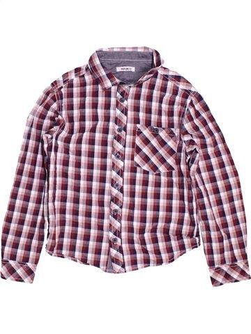 Chemise manches longues garçon PEP&CO violet 8 ans hiver #1483886_1