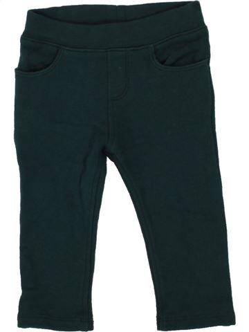 Pantalon garçon PETIT BATEAU vert 6 mois hiver #1484076_1