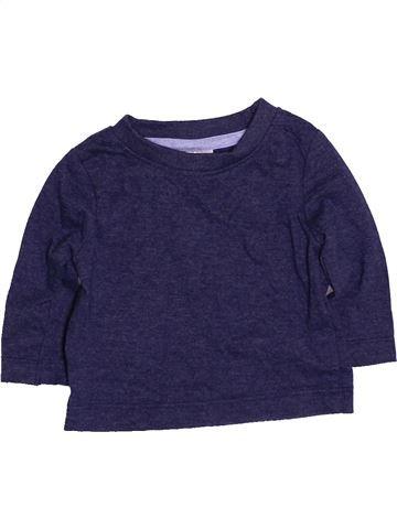 T-shirt manches longues garçon PEACOCK'S bleu 3 mois hiver #1484110_1
