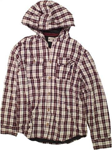 Camisa de manga larga niño MARKS & SPENCER violeta 14 años invierno #1484297_1