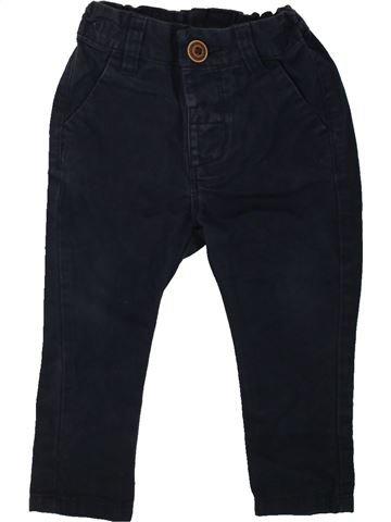 Pantalón niño DUNNES STORES negro 9 meses invierno #1484385_1