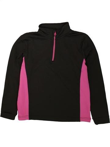 T-shirt manches longues fille CRANE noir 8 ans hiver #1484423_1