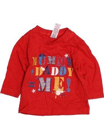Camiseta de manga larga niño M&CO rojo 6 meses invierno #1484598_1
