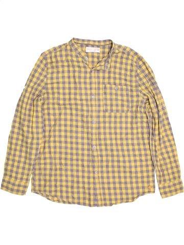 Chemise manches longues garçon ZARA beige 14 ans hiver #1484708_1