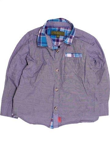 Chemise manches longues garçon TED BAKER gris 3 ans hiver #1484732_1