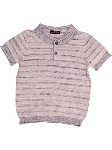 Polo manches courtes garçon NEXT gris 9 mois été #1484760_1