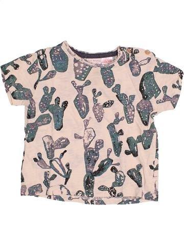 T-shirt manches courtes garçon ZARA violet 9 mois été #1485240_1