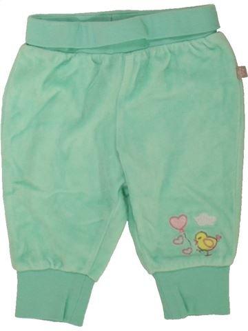 Pantalon fille SMILE vert 3 mois hiver #1485429_1