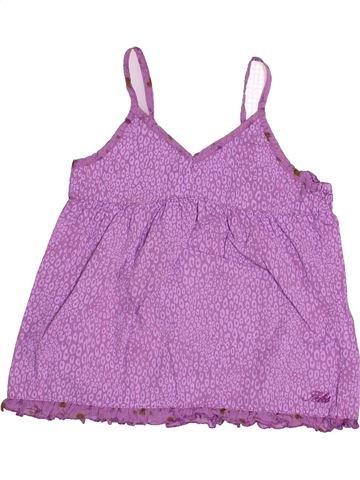 Blouse manches courtes fille IKKS violet 6 ans été #1485689_1