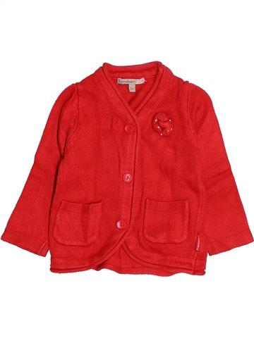 Chaleco niña PREMAMAN rojo 9 meses invierno #1485766_1