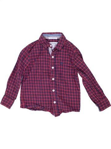 Chemise manches longues garçon JASPER CONRAN violet 5 ans hiver #1485960_1