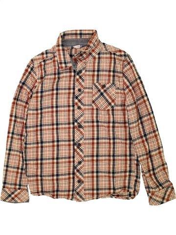 Chemise manches longues garçon JOHN LEWIS marron 11 ans hiver #1486024_1