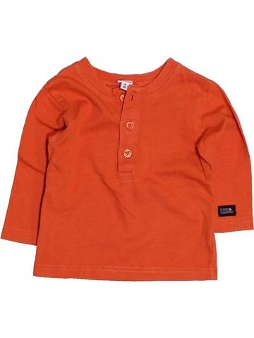 T-shirt manches longues garçon NANO & NANETTE rouge 6 mois hiver #1486111_1