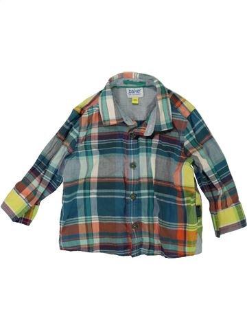 Chemise manches longues garçon TED BAKER gris 6 mois hiver #1486151_1