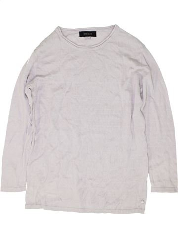 Pull fille RIVER ISLAND blanc 10 ans hiver #1486223_1