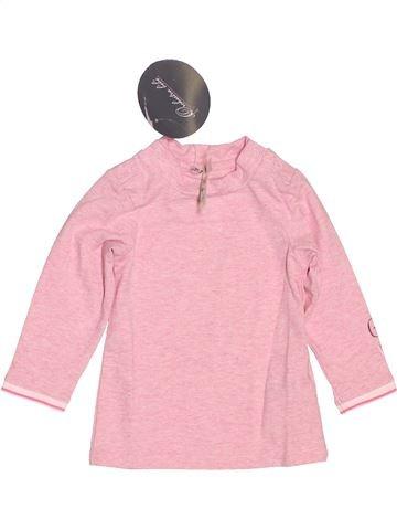T-shirt col roulé fille ORCHESTRA rose 6 mois hiver #1486271_1