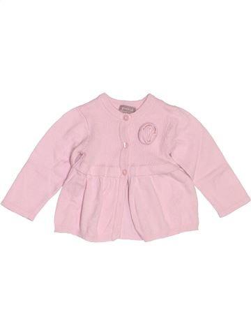 Chaleco niña GRAIN DE BLÉ rosa 3 meses invierno #1486275_1
